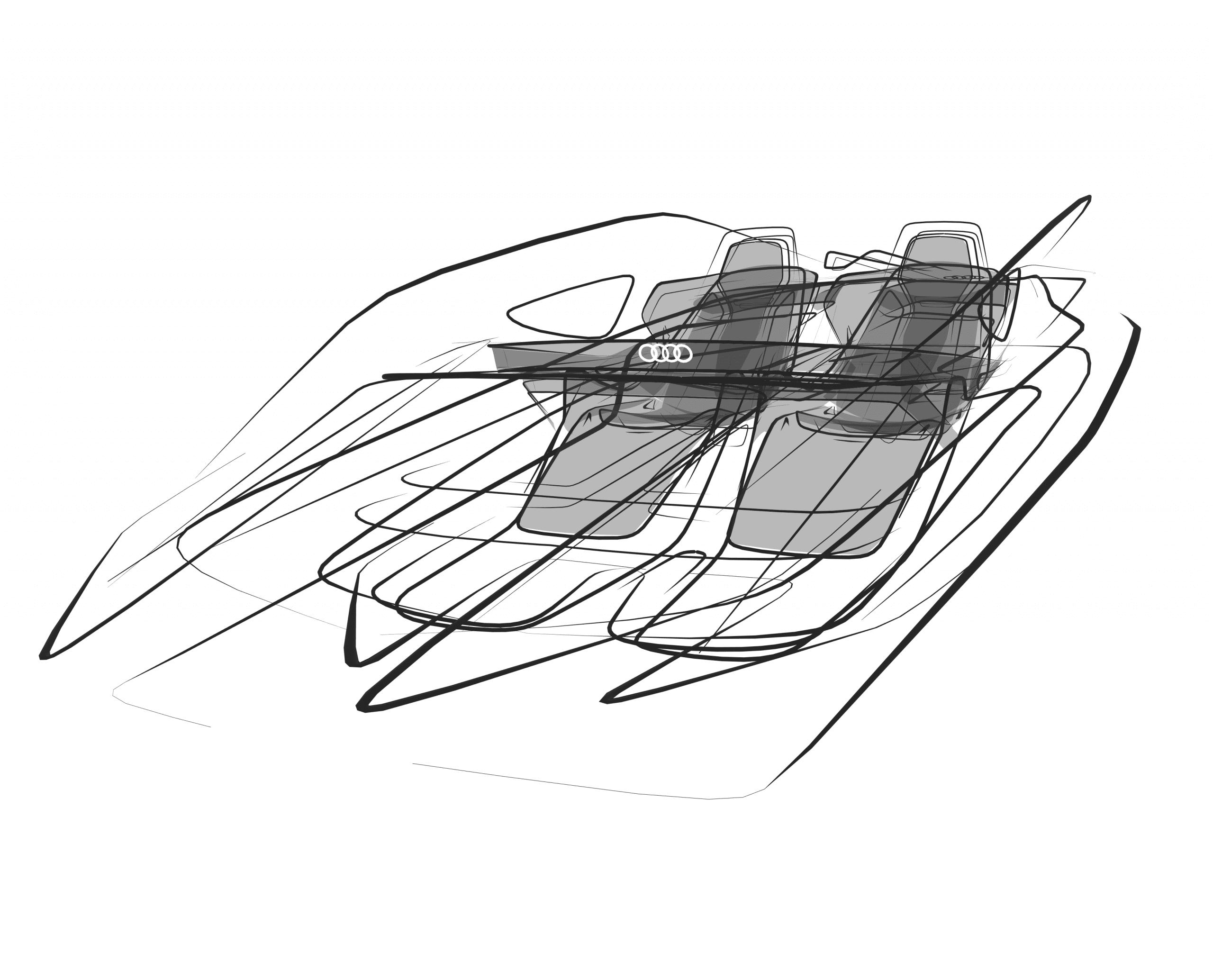 Audi Car designed in Gravity Sketch by Nikolai Proskurin, Audi AG Concept Designer and Gravity Sketcher