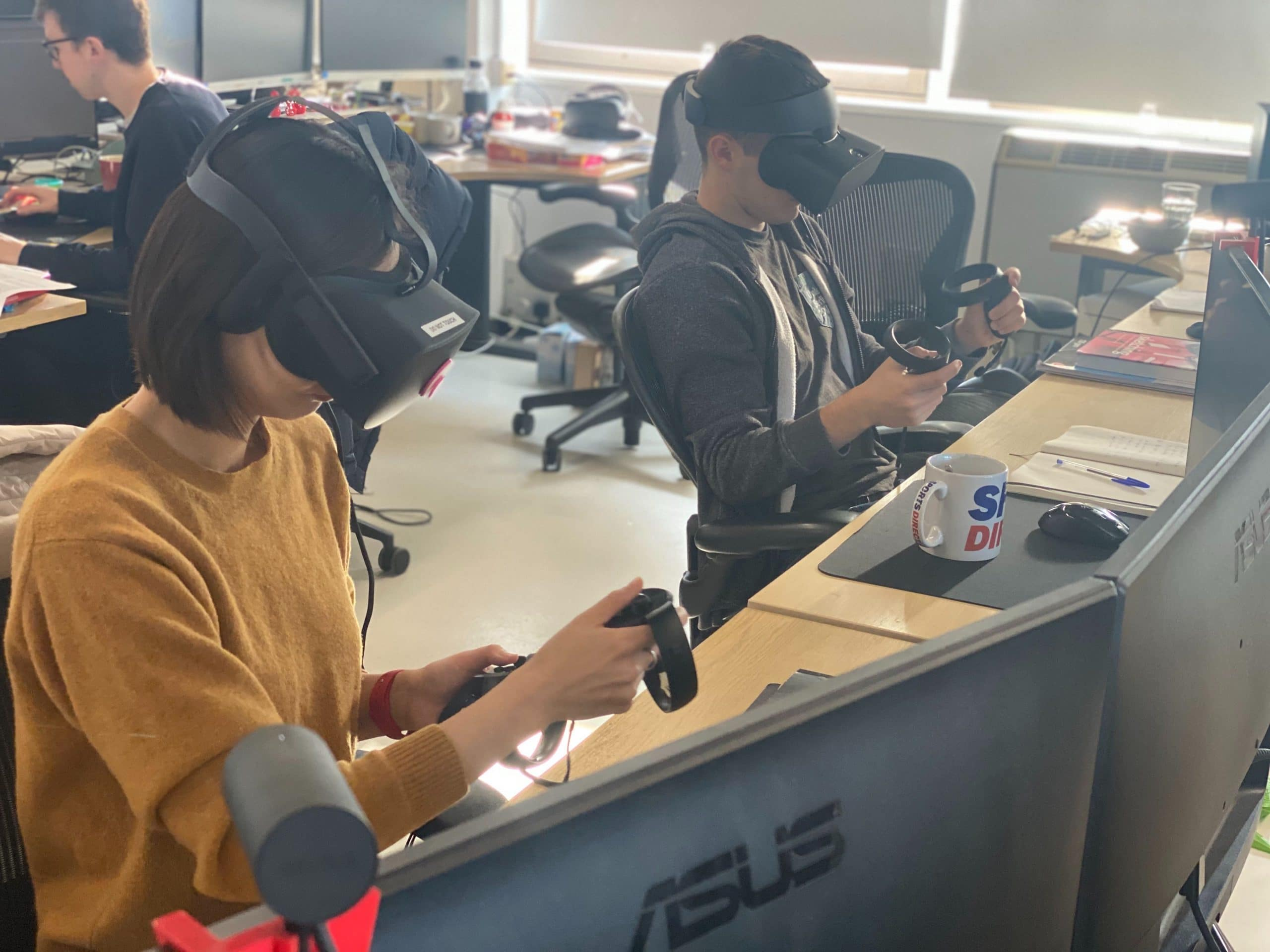 Why aren't we using VR in the office? Come on guys, it's 2020.