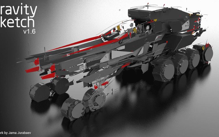 Gravity Sketch's 3rd Major Update