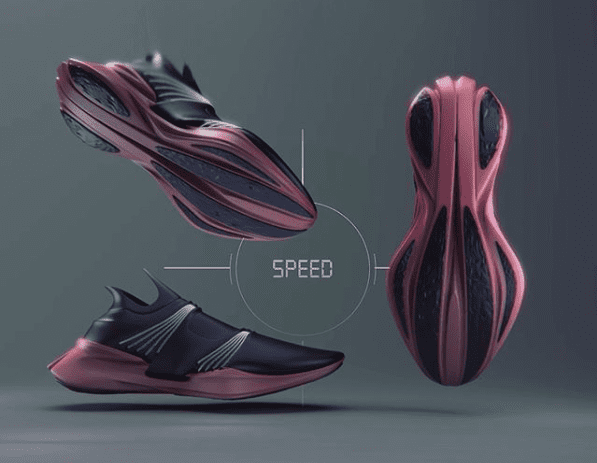 Image from @jmicgavin Instagram of footwear design with the text,