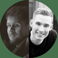 Photo of Nikolai Proskurin & Joshua Reer, the Automotive Designers at Hūstle