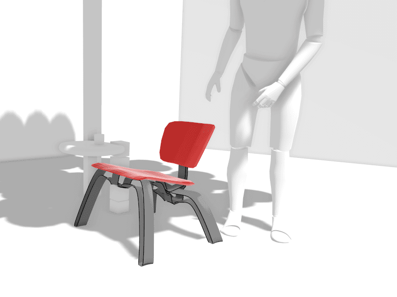 Concept development and virtual prototyping with chair & mannequin in Gravity Sketch - Matthew Antes & Cullan Kerner