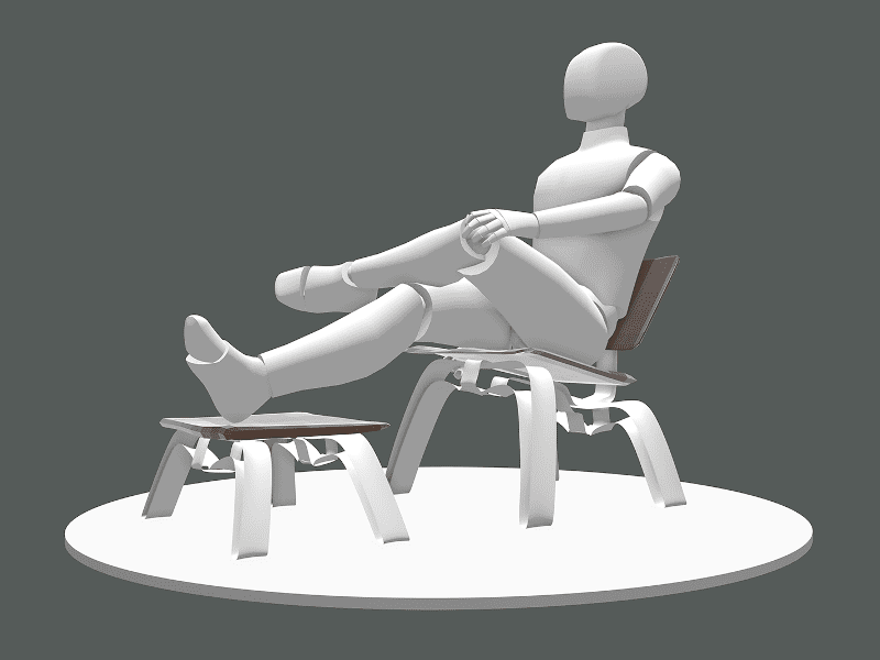 Final modelling and exporting with mannequin in Gravity Sketch - Industrial Designers Matthew Antes & Cullan Kerner