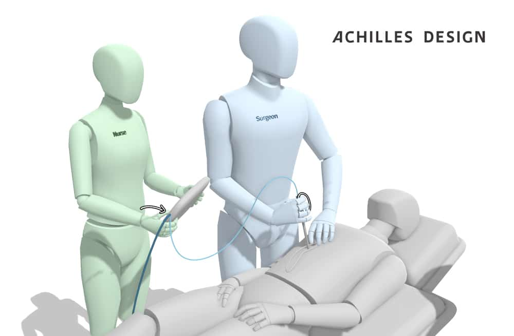 Gravity Sketch design case example at Achilles