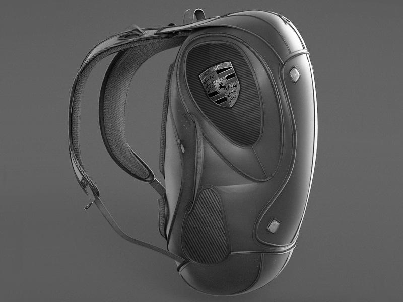 Final render of backpack design in Gravity Sketch - Noah Sussman, Owner at ARK Design