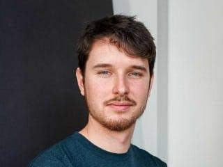 Photo of Lucas Van Dorpe, junior industrial designer at Achilles