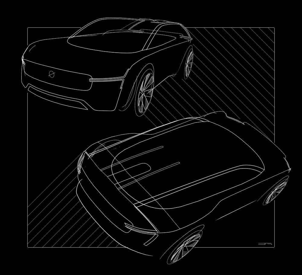 Development of external design in VR