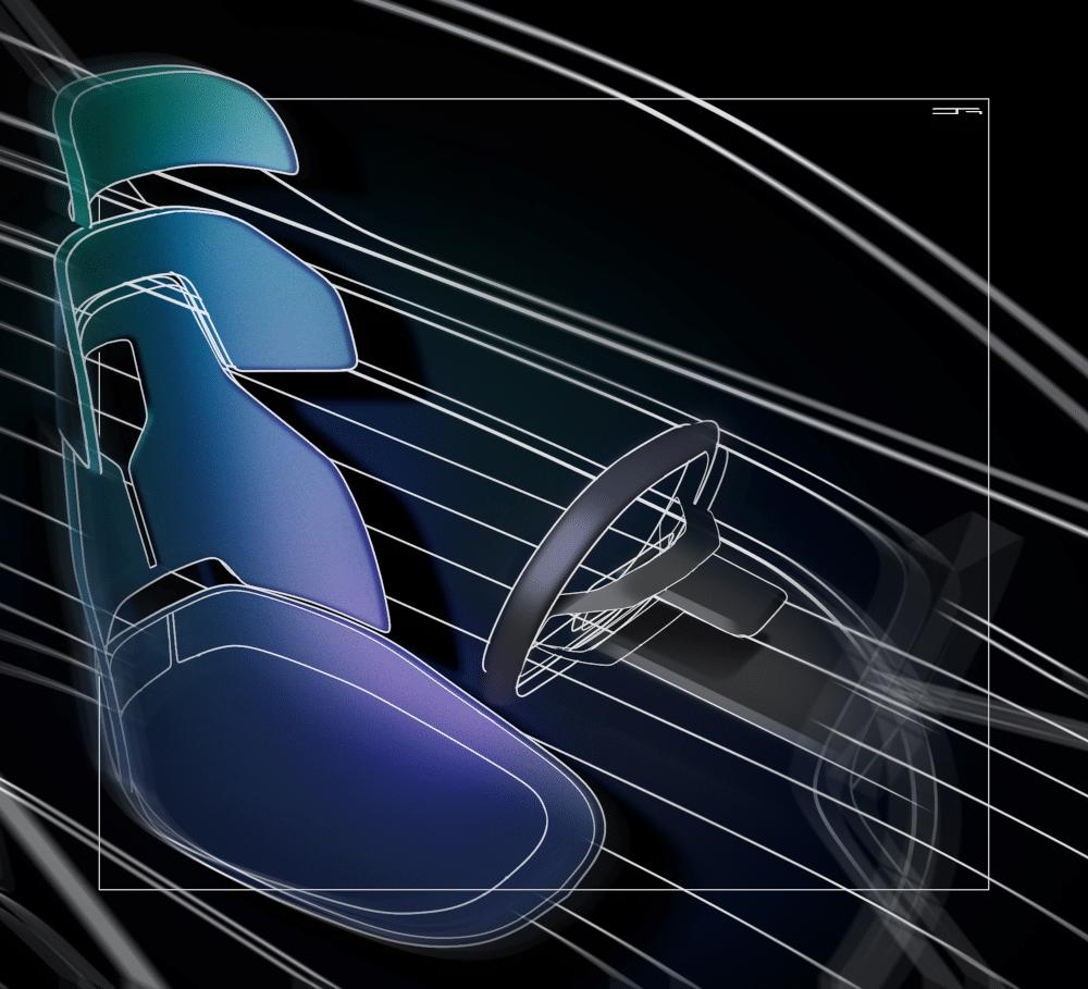 Seat design using Gravity Sketch