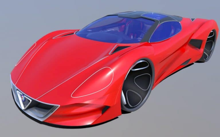Design collaboration: Ford and Reebok designers took car from sketch to 3D model